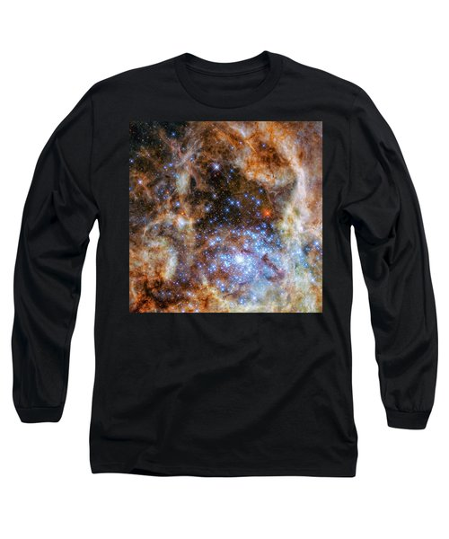 Long Sleeve T-Shirt featuring the photograph Star Cluster R136 by Marco Oliveira