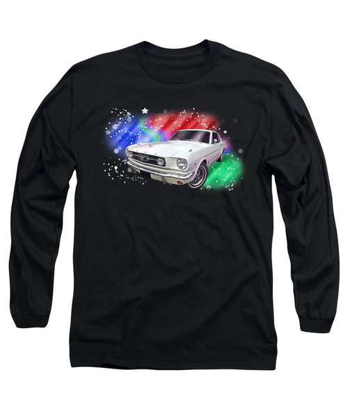 Star Of The Show - 66 Mustang Long Sleeve T-Shirt