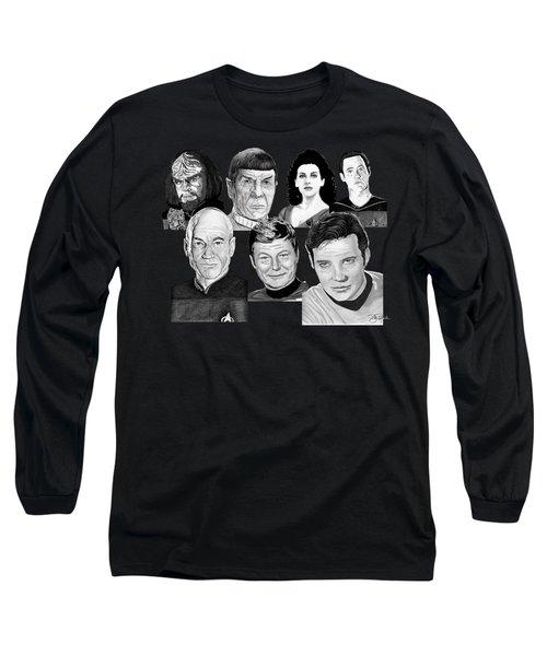 Star Trek Crew Long Sleeve T-Shirt