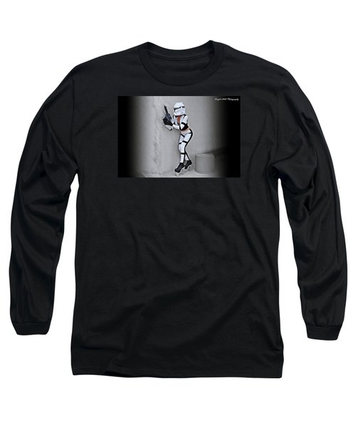 Star Wars By Knight 2000 Photography - Armor Long Sleeve T-Shirt by Laura Michelle Corbin