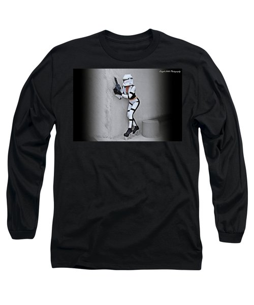 Star Wars By Knight 2000 Photography - Armor Long Sleeve T-Shirt