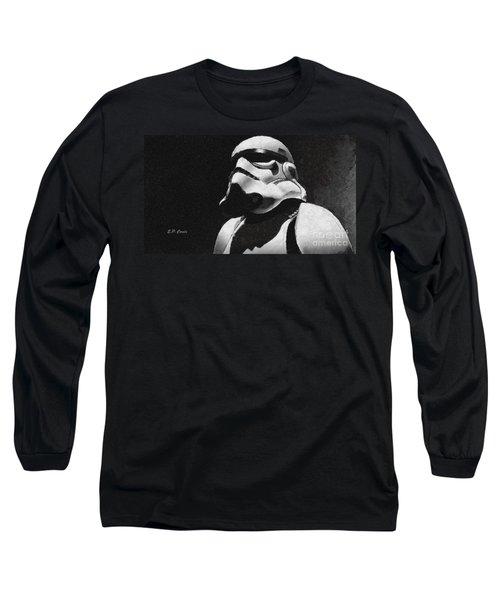 Star Wars Stormtrooper Long Sleeve T-Shirt by Elizabeth Coats