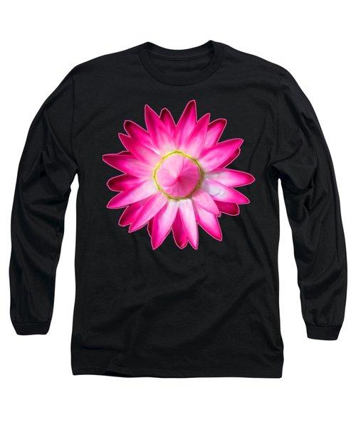 Starflower Opening  Mandala Long Sleeve T-Shirt
