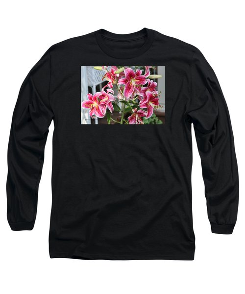 Long Sleeve T-Shirt featuring the photograph Stargazer by Denise Romano