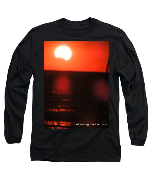 Staring Into A Star Eclipsed Long Sleeve T-Shirt