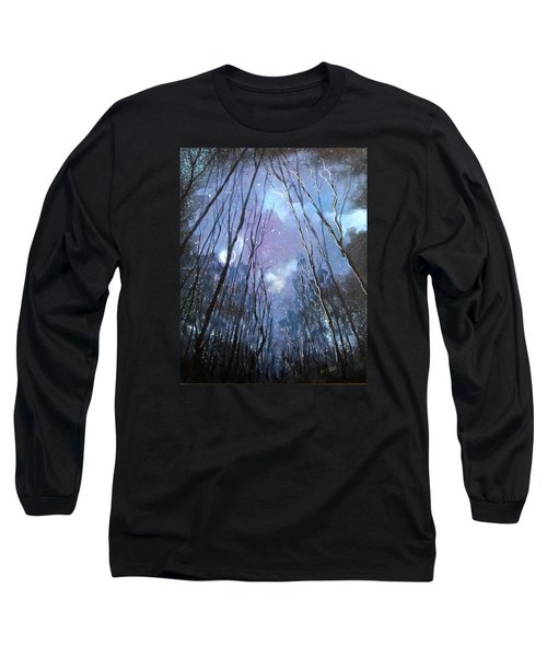 Starlight Long Sleeve T-Shirt by Barbara O'Toole