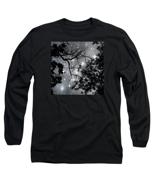 Starry Night Sky Long Sleeve T-Shirt
