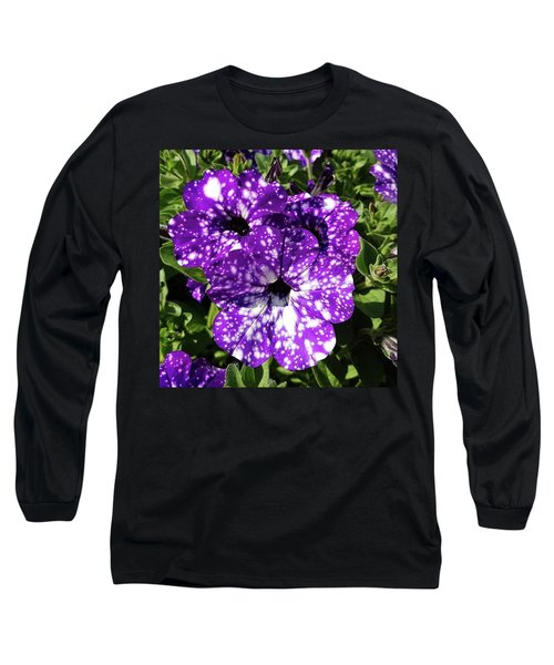 Starry Petunias... Long Sleeve T-Shirt