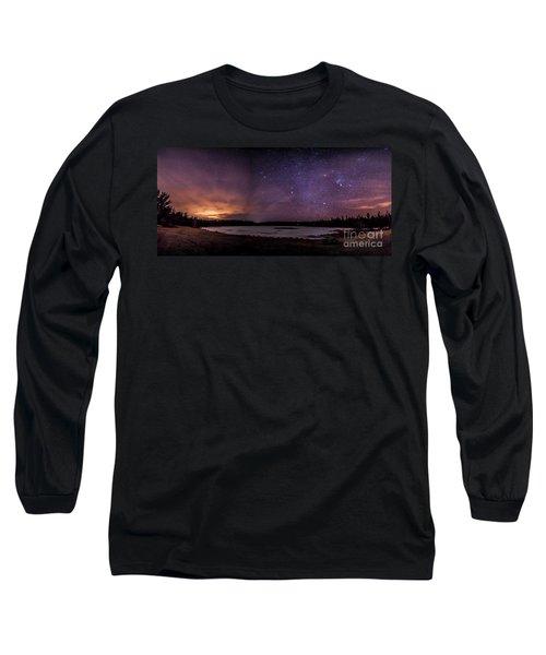 Stars Over Lake Eaton Long Sleeve T-Shirt