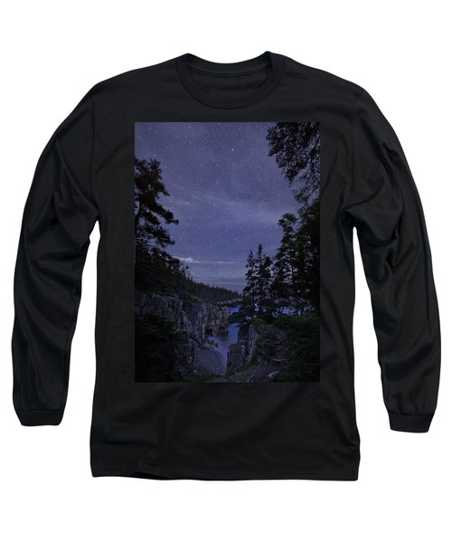 Stars Over Raven's Roost Long Sleeve T-Shirt