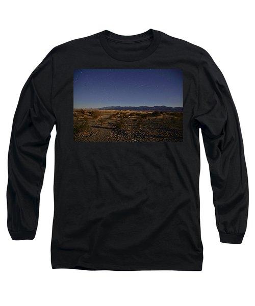 Stars Over The Mesquite Dunes Long Sleeve T-Shirt