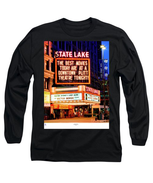 State-lake Theater Long Sleeve T-Shirt