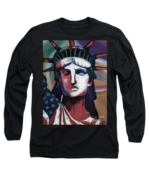 Statue Of Liberty Hb5t Long Sleeve T-Shirt by Gull G
