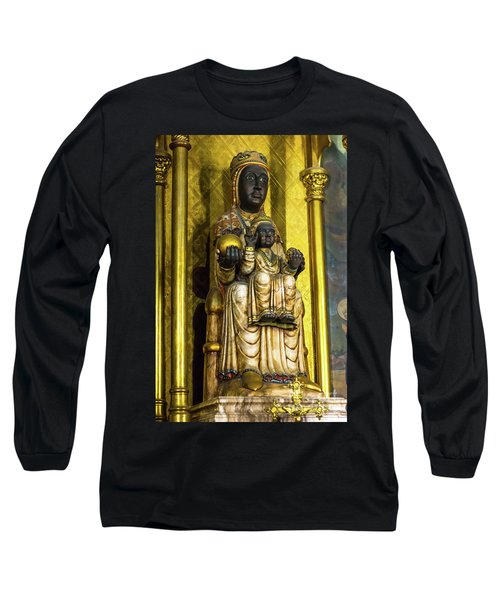 Statue Of The Virgin Mary Long Sleeve T-Shirt