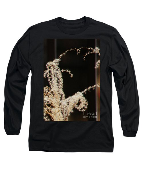 Stay Close Long Sleeve T-Shirt by Linda Shafer