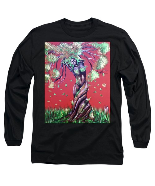 Stay Rooted- Stay Grounded Long Sleeve T-Shirt