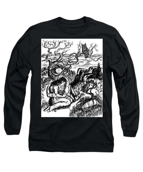 Stay With Me Long Sleeve T-Shirt by Dawn Senior-Trask