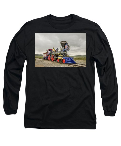 Steam Locomotive Jupiter Long Sleeve T-Shirt