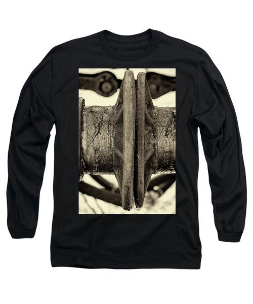 Long Sleeve T-Shirt featuring the photograph Steam Train Series No 31 by Clare Bambers