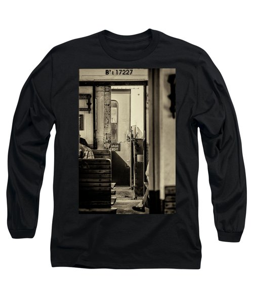 Long Sleeve T-Shirt featuring the photograph Steam Train Series No 33 by Clare Bambers