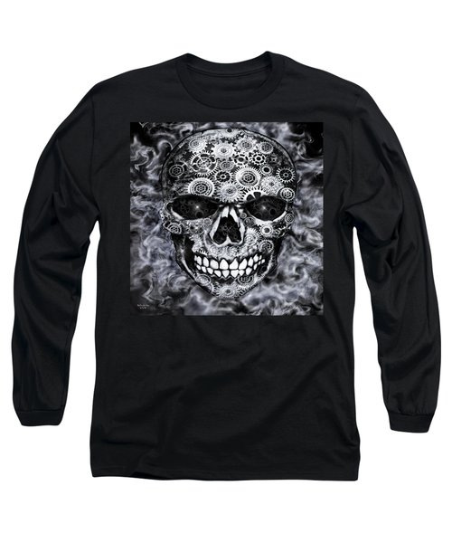 Steampunk Skull Long Sleeve T-Shirt