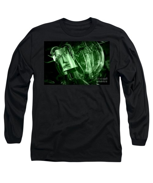 Steel Jelly Long Sleeve T-Shirt by Steven Macanka