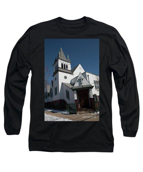 Steinwy Reformed Church Steinway Reformed Church Astoria, N.y. Long Sleeve T-Shirt