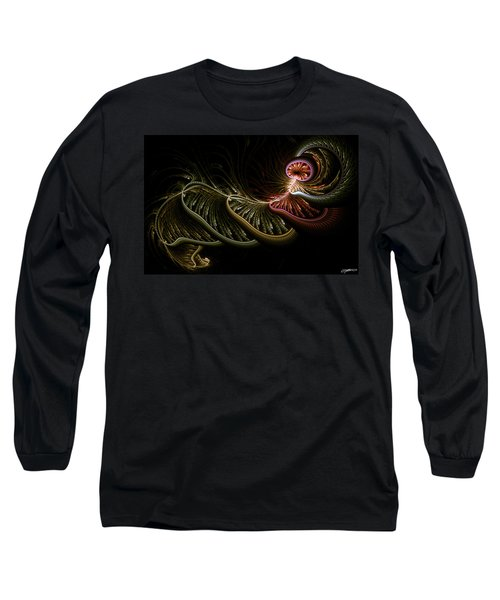 Stepping Through Time Long Sleeve T-Shirt by Casey Kotas