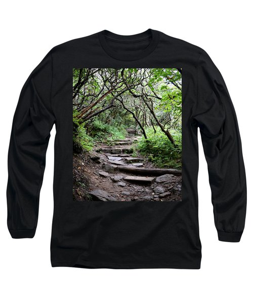 Steps Into The Enchanted Forest Long Sleeve T-Shirt