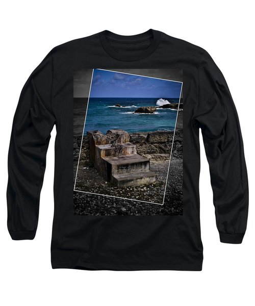 Steps To The Ocean2 Long Sleeve T-Shirt