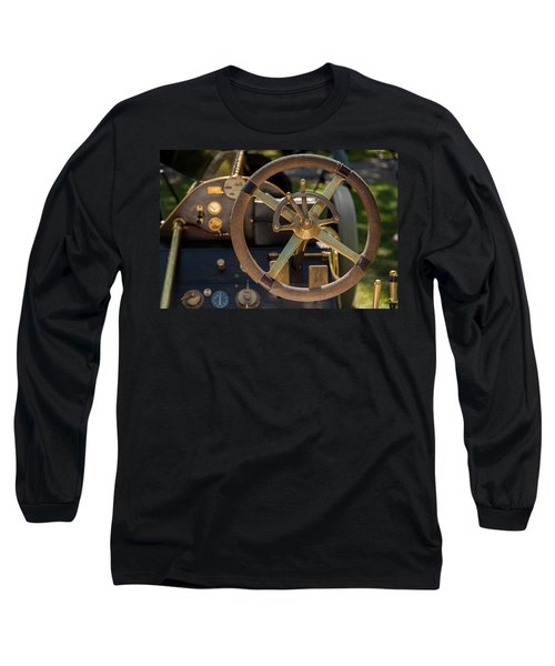 Steering Wheel 1909 Alco Black Beast Long Sleeve T-Shirt