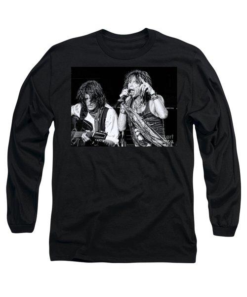 Steven Tyler Croons Long Sleeve T-Shirt