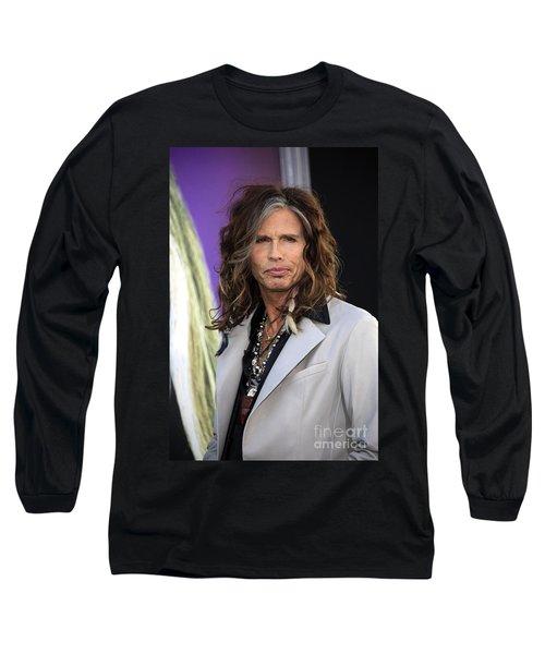 Steven Tyler Long Sleeve T-Shirt by Nina Prommer