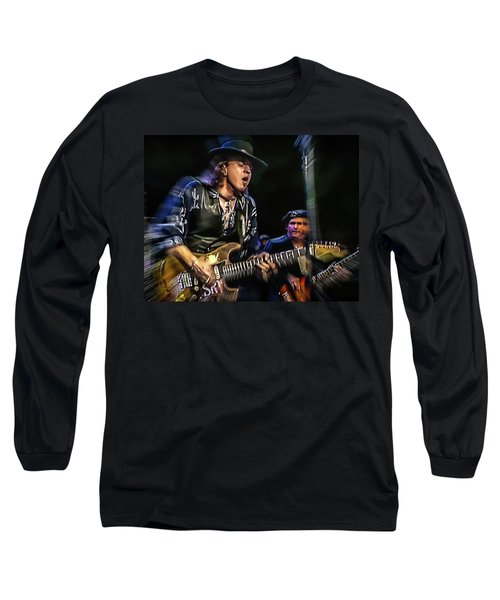 Stevie Ray Vaughan - Couldn't Stand The Weather Long Sleeve T-Shirt