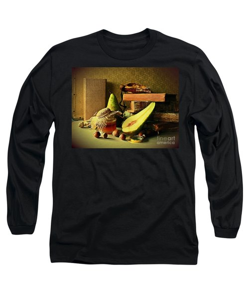 Still Life With Pears II Long Sleeve T-Shirt