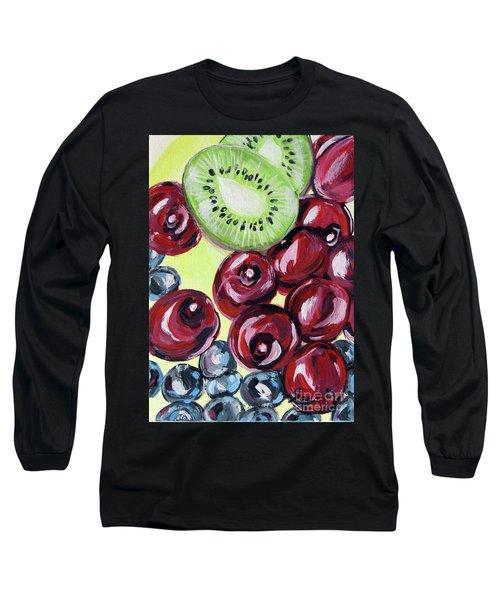 Still Life 130. Cherries Long Sleeve T-Shirt