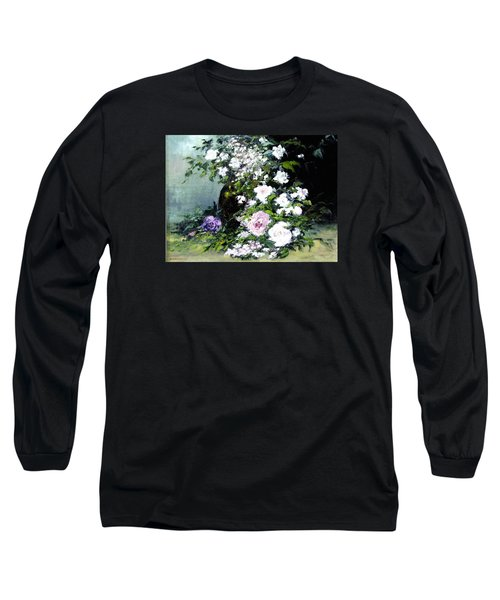 Still Life W/flowers Long Sleeve T-Shirt
