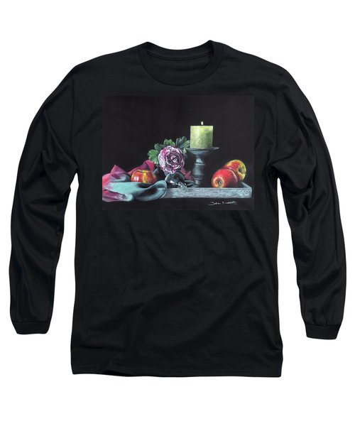 Still Life With Candle Long Sleeve T-Shirt