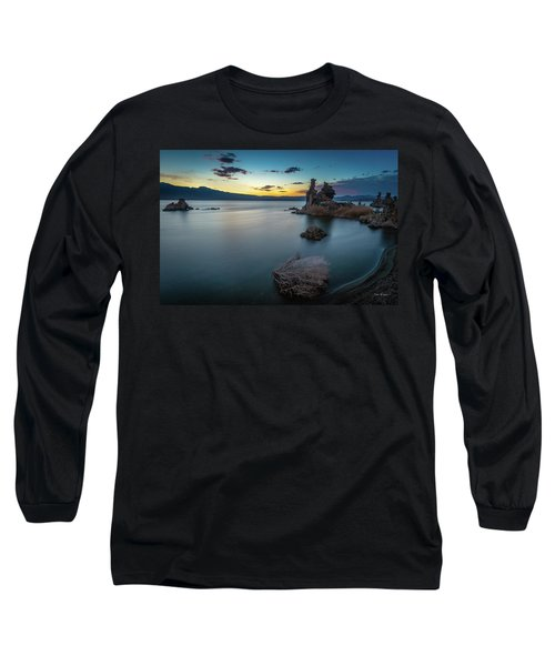 Stillness...mono Lake Long Sleeve T-Shirt