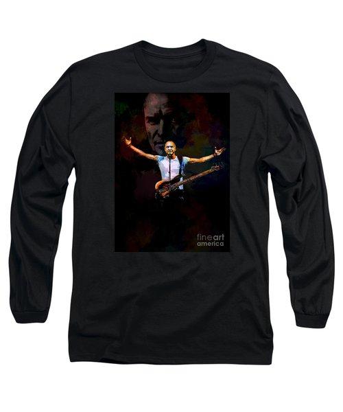 Long Sleeve T-Shirt featuring the digital art Sting 1 by Andrzej Szczerski