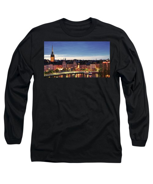 Stockholm By Night Long Sleeve T-Shirt