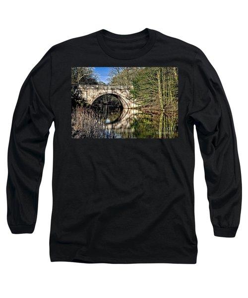 Stone Bridge On River Long Sleeve T-Shirt