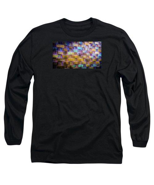Brick Wall In Abstract 499 Long Sleeve T-Shirt