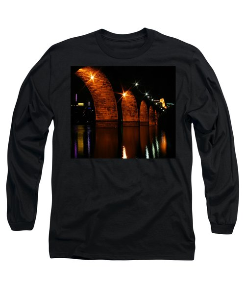Stonearch Bridge - Minneapolis Long Sleeve T-Shirt