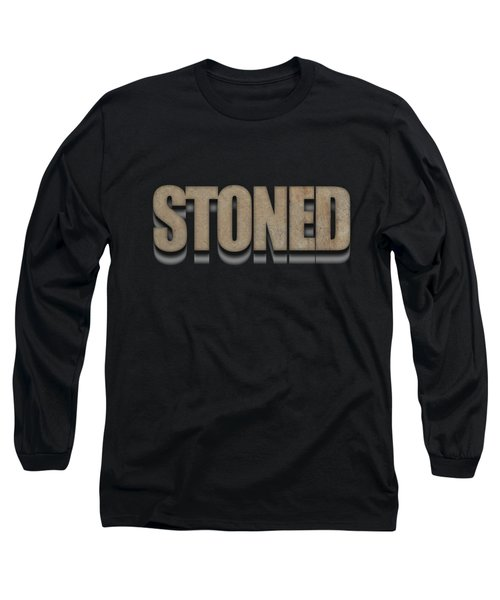 Stoned Tee Long Sleeve T-Shirt