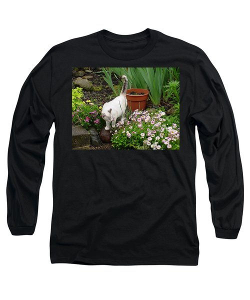 Stop To Smell Flowers Long Sleeve T-Shirt
