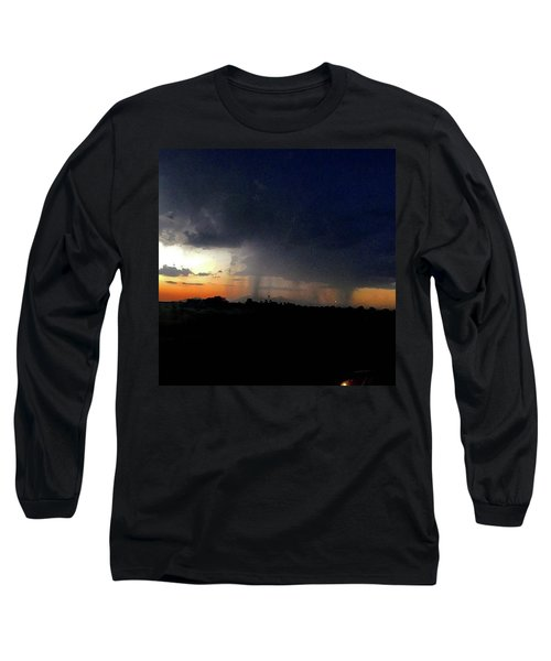 Storm Cloud Long Sleeve T-Shirt by Speedy Birdman