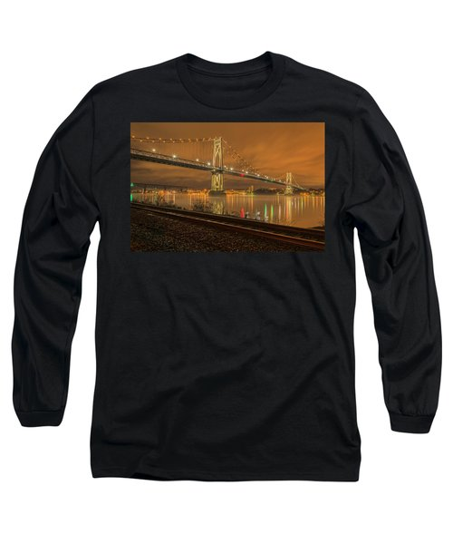 Storm Crossing Long Sleeve T-Shirt by Angelo Marcialis