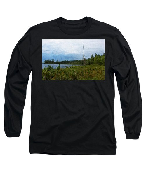 Storm On Raquette Lake Long Sleeve T-Shirt