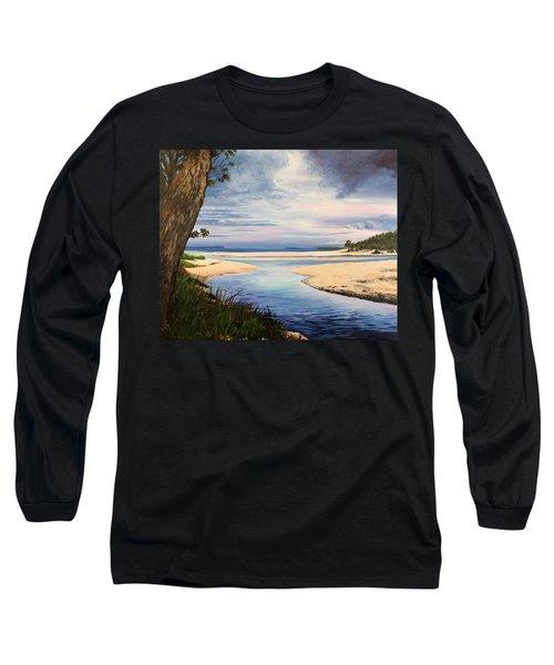 Storm Over Moona Moona Creek Long Sleeve T-Shirt